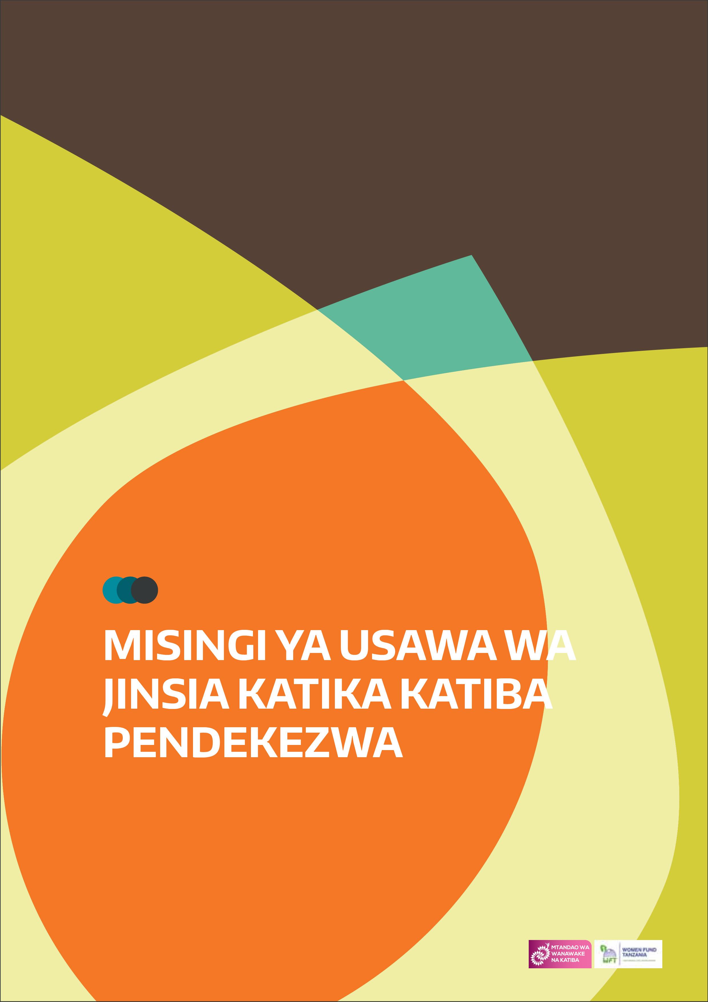 Misingi ya Usawa wa Jinsia Katika Katiba Pendekezwa-01